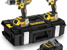DEWALT DCK295M2-XE 18V BRUSHLESS HAMMER DRILL AND