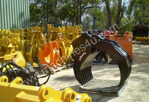 Manual & Hydraulic Grabs 3-80 Ton