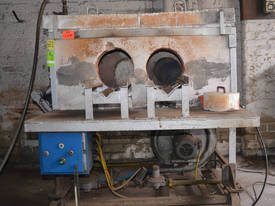Gas Fired Heat Treatment Box Furnace Forge Oven