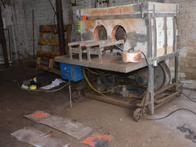 Gas Fired Heat Treatment Box Furnace Forge Oven  - picture1' - Click to enlarge