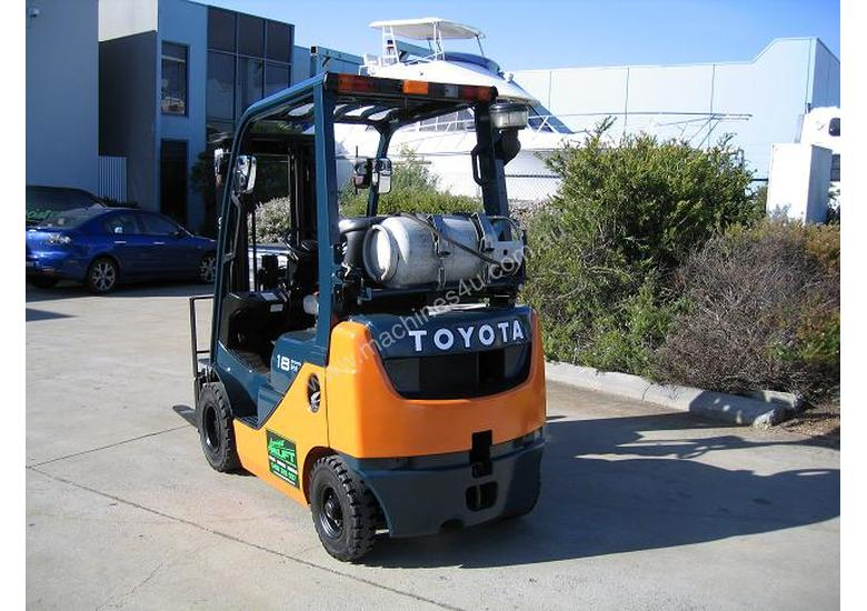 TOYOTA 1.8t LPG  with Container Mast