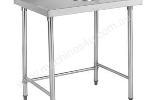 F.E.D. SWCB-7-1200 Stainless steel Waste Collector Bench