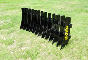 2019 DIGGA 2130MM STICK RAKE TO SUIT SKID STEERS