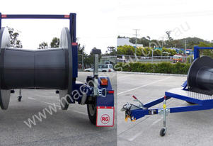 1.0 Tonne Self Loading Cable Trailers