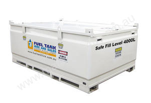 4500 LITRE SELF BUNDED DIESEL, OIL & FUEL TANK - 1