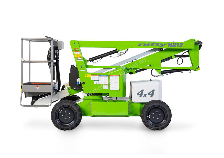 HR12 4�4 12.2m Self Propelled - compact dimensions - class-leading working envelope