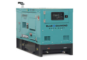 Generator 44 KVA Diesel 3 Phase 415V - Isuzu Engine - 2 Years Warranty