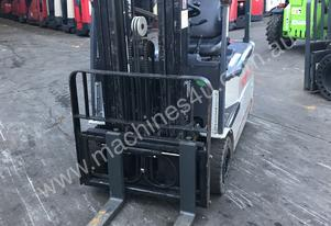 TCM Electric Forklift 1.8 Ton 4m Lift Container Mast
