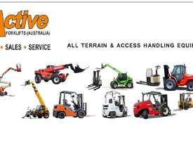 Telehandlers For Hire Starting $550 Merlo Manitou - picture9' - Click to enlarge