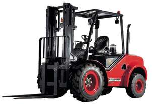 JAC 2 WHEEL DRIVE ROUGH TERRAIN FORKLIFT