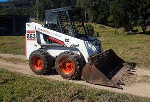Bobcat   863 Skid Steer Loader