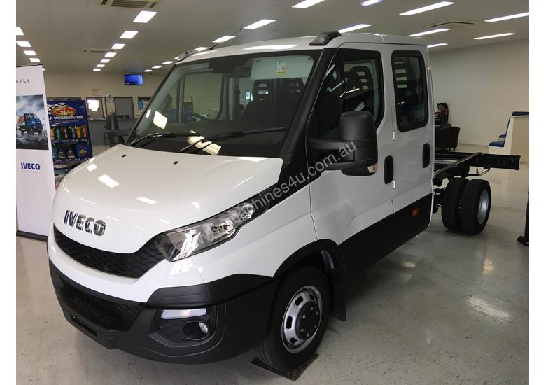 Iveco Daily 4x2 50C17 Dual Cab Chassis Auto