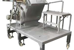 Conical Sided Paddle Mixer with dust extractor