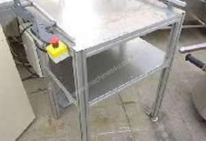 Conveyor with Working Table & Side Guide Rails