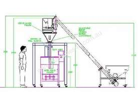 Powder Packaging System - picture0' - Click to enlarge