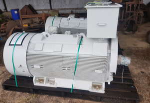 Toshiba Tmeic Electric Motor 350kw 6600 Volt 3 Phase
