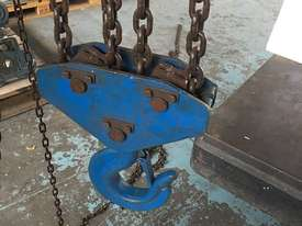 Chain Hoist 10 Ton x 3 meter drop lifting Block and Tackle Nobles Rigmate - picture1' - Click to enlarge