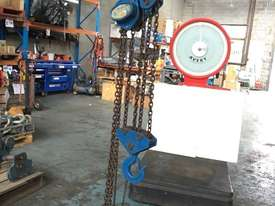 Chain Hoist 10 Ton x 3 meter drop lifting Block and Tackle Nobles Rigmate - picture2' - Click to enlarge