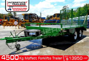 4.5 TON Custom build Moffett Plant Trailers 4500kg ATM ATTPT