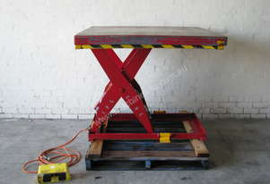 Safetech 1000kg Scissor Lift Table - 1300 x 1150mm