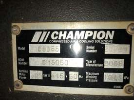 Champion Screw Compressor - picture1' - Click to enlarge
