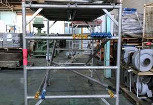 Aluminium Scaffolding Tower Heavy Duty Alloy 3.5 mtr Scaffold Mobile Work Platform