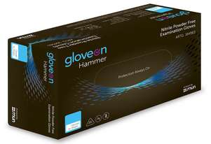 Disposable Gloves - Black - Large