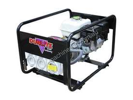 Dunlite Honda 3.3kVA Generator with Worksafe RCD Outlets - picture4' - Click to enlarge