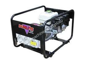 Dunlite Honda 3.3kVA Generator with Worksafe RCD Outlets - picture5' - Click to enlarge