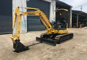 2012 KOMATSU PC40MR MINI EXCAVATOR - PRICE DROP!!!