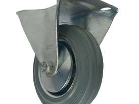 43054 - GREY STEEL CORE CASTOR(FIXED) - picture0' - Click to enlarge