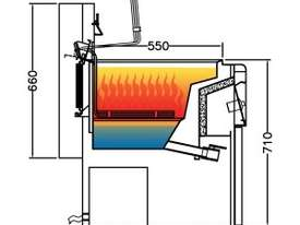 F.E.D Electric Fryer with Cold Zone - AUTOLIFT Single Vat EF-28S - picture1' - Click to enlarge
