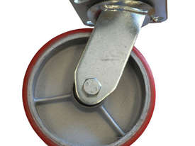 43033 - PU MOULDED CAST IRON WHEEL CASTOR(SWIVEL) - picture0' - Click to enlarge