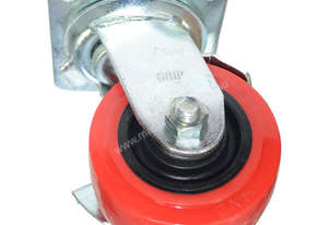 42099 - PU CASTOR MOULDED PP CORE(R)(SWIVEL)