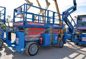 2009 Genie GS-4390 RT Scissor Lift
