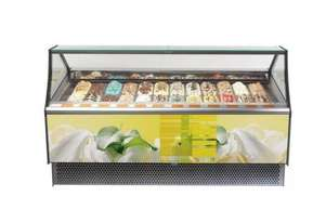 Millennium 12 Ice Cream Display Cabinet