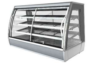 FPG 3H12-CU-FF 3000 Series Heated Fixed Front Food Cabinet - 1200mm