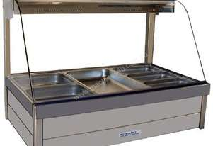 Roband C23RD Curved Glass Hot Food Bar