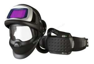 3M™ Speedglas™ Flip-Up Welding Helmet 9100 FX Air with Adflo PAPR