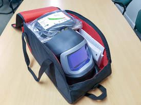 3M� Speedglas� Flip-Up Welding Helmet 9100 FX Air with Adflo PAPR - picture4' - Click to enlarge