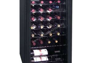 Polar Wine Cooler 26 bottles (Mechanical) Glass Door Metal Racks