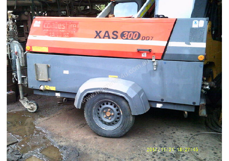 XAS-300 d7 , 2011 , 1200 hrs , air after cooled , water trap