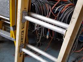 Extension Ladder Fiberglass 6.4 metre Oldfields Ezi Lift Industrial Ladders - picture0' - Click to enlarge