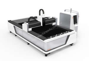 Fiber Laser cutting  system Single table open design