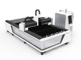 Fiber Laser cutting  system Single table open design  - picture0' - Click to enlarge