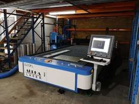 Alpha CNC Fiber laser cutting machine 1325FL- 2 years warranty - picture8' - Click to enlarge