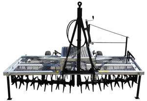2018 FARMTECH AERVATOR GH-2404 MAXI QUAD GANG (TRAILING, 2.4M CUT)