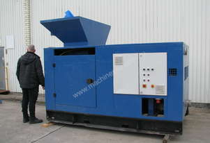 Industrial Styrofoam Shredder Semi Hot Melt Machine 2