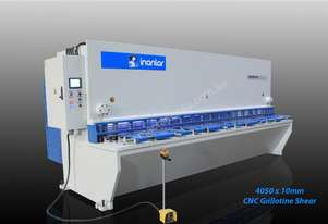 INANLAR 4050 x 10mm CNC Hydraulic Guillotine Shear