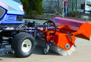 Tuchel Road Sweeper Broom for Forklits and Excavators